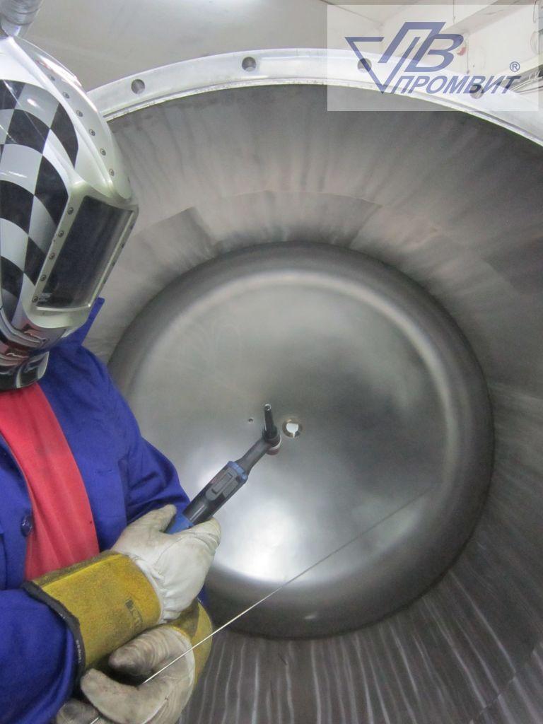 емкости и реакторы украина