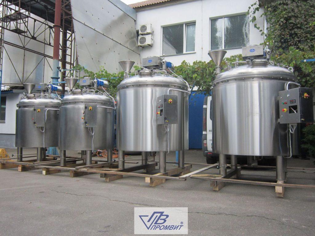 производство емкостей в украине реакторов