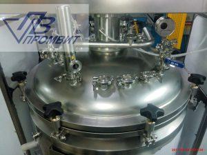 крышка реактора 250 л
