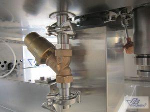 слив подача теплоносителя реактора