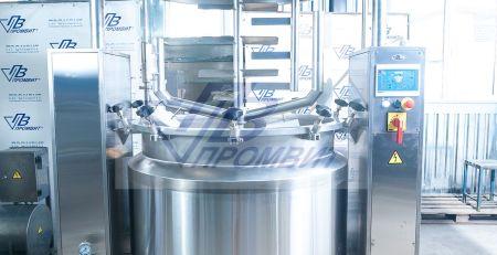 реактор 500 л GMP
