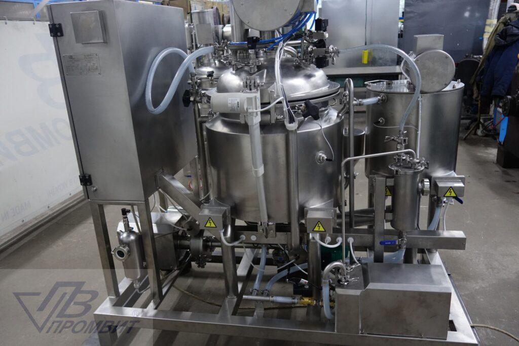 установка приготовления крема